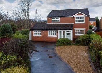 Thumbnail 4 bed detached house for sale in Roseberry Avenue, Cottam, Preston