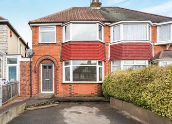Thumbnail 3 bedroom semi-detached house for sale in Edgemond Avenue, Pype Hayes/ Walmley Border, Birmingham