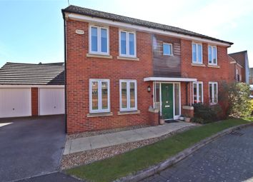 Thumbnail 4 bed detached house for sale in Butterton Gardens, Broughton, Milton Keynes