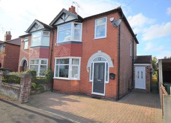 Thumbnail 3 bed semi-detached house for sale in Greave Road, Offerton, Stockport