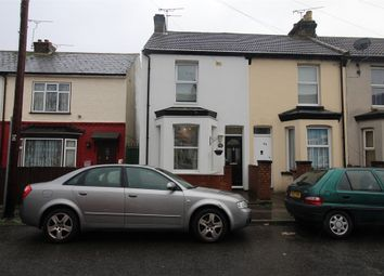 Thumbnail 2 bed end terrace house for sale in King Edward Road, Gillingham, Kent.