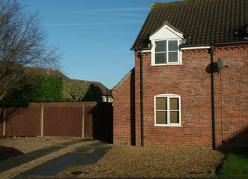 Thumbnail 2 bed end terrace house for sale in St. Leger, Long Stratton, Norwich
