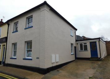 Thumbnail 2 bed end terrace house for sale in Bury Street, Stowmarket