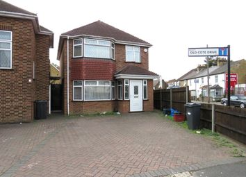 Thumbnail 4 bed detached house to rent in Old Cote Drive, Heston, Hounslow
