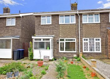 Thumbnail 3 bed semi-detached house for sale in Lychpole Walk, Goring-By-Sea, Worthing, West Sussex