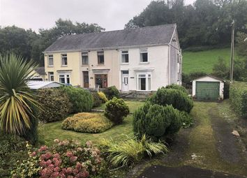 Thumbnail 3 bed end terrace house for sale in Station Road, Nantgaredig, Carmarthen