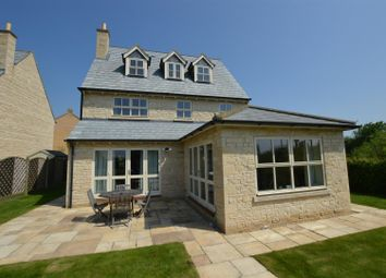 Thumbnail 4 bed detached house for sale in Gwash Close, Ryhall, Stamford