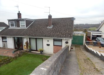 Thumbnail 2 bed semi-detached bungalow to rent in Vancouver Drive, Penmaen, Blackwood