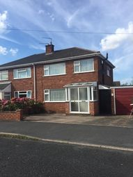 Thumbnail 3 bed semi-detached house to rent in Broadway Avenue, Trench, Telford