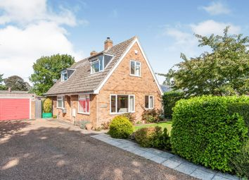 Thumbnail 3 bed detached house for sale in Holme Close, Hopton, Diss