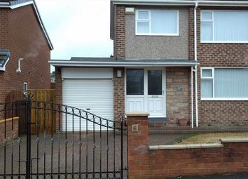 Thumbnail 3 bed semi-detached house for sale in Poplar Drive, Durham