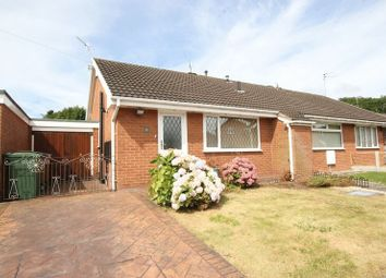 Thumbnail 1 bed semi-detached bungalow for sale in Aylsham Drive, Upton, Wirral
