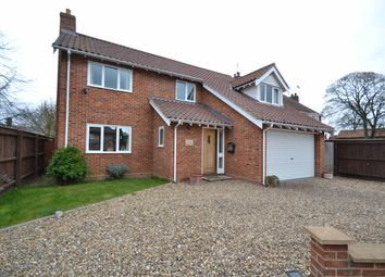 Thumbnail 4 bedroom detached house for sale in Station Road, Claydon, Ipswich