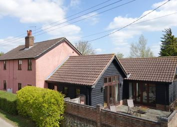 Thumbnail 4 bed detached house for sale in Sandford Road, Old Newton, Stowmarket
