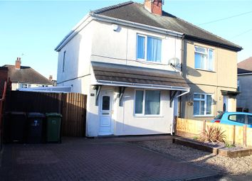 Thumbnail 2 bed semi-detached house for sale in Queen Marys Road, Bedworth, Warwickshire