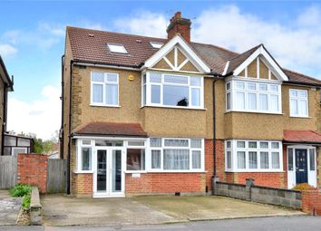Thumbnail 4 bedroom semi-detached house for sale in Abbotts Road, Cheam, Sutton