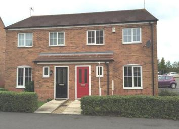 Thumbnail 3 bed semi-detached house to rent in Elvaston Court, Grantham