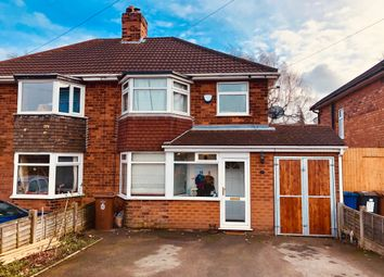 Thumbnail 3 bed semi-detached house for sale in Sutton Road, Mile Oak, Tamworth