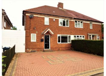 Thumbnail 4 bedroom semi-detached house for sale in Highters Heath Lane, Birmingham