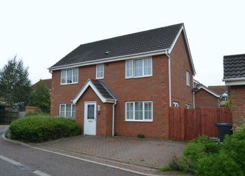 Thumbnail 4 bed detached house to rent in Speedwell Way, Norwich