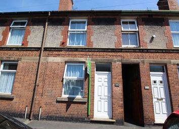 Thumbnail 3 bed terraced house for sale in Gordon Street, Burton-On-Trent