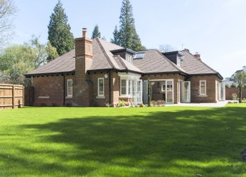 Thumbnail 4 bed detached house to rent in Pond Road, Woking