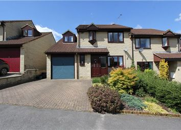 Thumbnail 4 bed semi-detached house for sale in St. Marys Rise, Writhlington, Radstock, Somerset