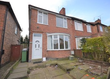 Thumbnail 3 bedroom semi-detached house to rent in Henley Crescent, Braunstone, Leicester