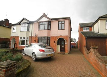 Thumbnail 3 bed semi-detached house for sale in Sidegate Lane, Ipswich