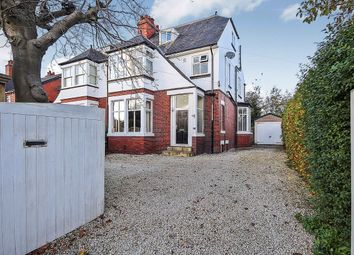 Thumbnail 4 bed semi-detached house for sale in Manston Gardens, Crossgates, Leeds