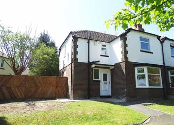 Thumbnail 3 bed semi-detached house for sale in Bury Old Road, Prestwich, Prestwich Manchester