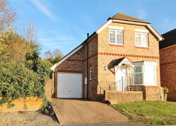 Thumbnail 3 bedroom link-detached house for sale in Horseshoe Close, Findon Village, Worthing, West Sussex