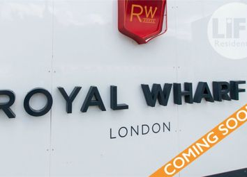 Thumbnail 2 bed flat for sale in Latitude House, Royal Wharf