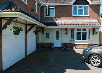 Thumbnail 5 bed detached house for sale in Halberd Close, Burbage, Hinckley, Leicestershire