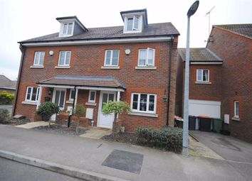 Thumbnail 4 bed semi-detached house for sale in Manor Avenue, Hockliffe, Leighton Buzzard