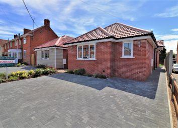 Aldham Road, Hadleigh, Ipswich, Suffok IP7. 2 bed detached bungalow