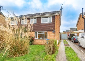 Thumbnail 3 bed semi-detached house for sale in Millins Close, Sandhurst, Berkshire