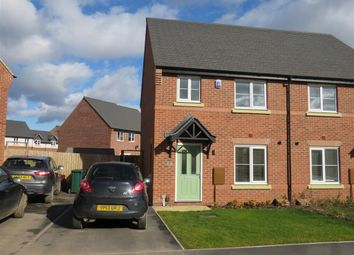 Thumbnail 3 bed semi-detached house to rent in Stafford Drive, Littleover, Derby