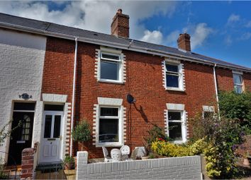 Thumbnail 2 bed terraced house for sale in East Terrace, Exeter