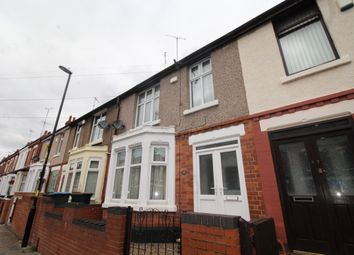 Thumbnail 3 bed terraced house for sale in Beaconsfield Road, Coventry