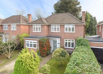 Thumbnail 4 bed detached house for sale in Daneswood Close, Weybridge, Surrey