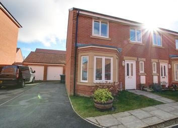 Thumbnail 3 bed semi-detached house for sale in Harvey Avenue, The Meadows, Durham