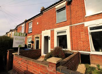 Thumbnail 3 bed terraced house to rent in Beaconsfield, Norwich