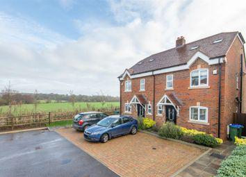 Chatfield Close, Cooksbridge, Lewes BN8. 4 bed semi-detached house for sale
