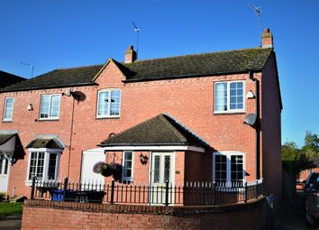 Thumbnail 4 bed semi-detached house for sale in Quintonside, Grange Park, Northampton