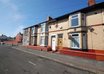 Thumbnail 2 bedroom terraced house to rent in Merton Road, Wallasey, Wirral