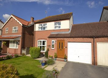 Thumbnail 3 bed detached house for sale in Riverside Gardens, Elvington, York