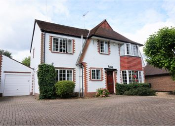 Thumbnail 4 bed detached house for sale in Send Marsh Road, Woking