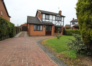 Thumbnail 3 bed detached house for sale in Priory Way, Lea, Gainsborough