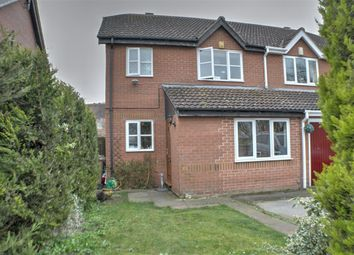 Thumbnail 3 bed semi-detached house for sale in Beck Close, Ruskington, Sleaford